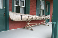 Birch Bark Canoe Royalty Free Stock Photography
