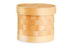 Birch bark container Stock Photos
