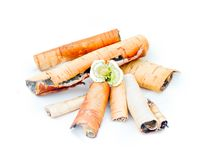 Birch bark Royalty Free Stock Images