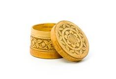 Free Birch Bark Jewelry Casket Stock Photography - 12626622