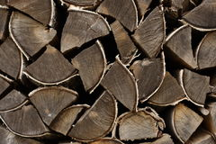 Birch fire wood Stock Image