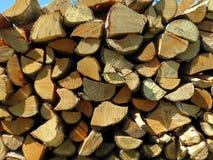 Birch firewood Royalty Free Stock Photography