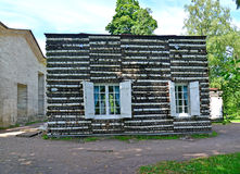 Birch lodge in Palace park of Gatchina Royalty Free Stock Photography