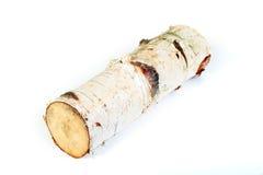 Birch log stock photos