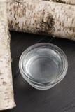 Birch sap Stock Photos