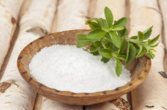 Birch sugar Stock Images