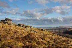 Birch Tor. Dartmoor national park Devon Uk Stock Photography