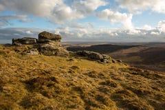 Birch Tor. Dartmoor national park Devon Uk Royalty Free Stock Photography