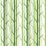 Birch tree.seamless pattern.vector.fabricDesign element for wallpapers, web site background, baby shower invitation, birthday card. Scrapbooking, fabric print Stock Image