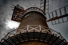 Bircham väderkvarn Royaltyfri Fotografi