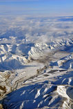 Birchwood Valley Otago Aerial, New Zealand Stock Image