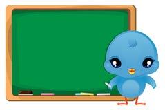 Bird_01. Illustration of Twitter Bird on white background Royalty Free Stock Photography
