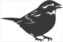 Bird. Vector image of a bird Royalty Free Stock Photo