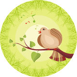 Bird royalty free illustration