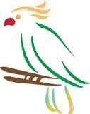 Bird. Illustration of bird with isolated background Stock Photos