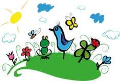 Bird. Stock Images
