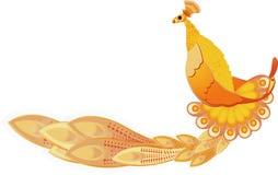 Bird. Vector in the form of a bird ornament Stock Photo