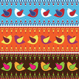 Bird banners Royalty Free Stock Photo