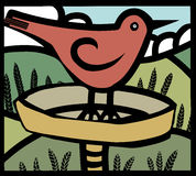 Bird bath Stock Photos