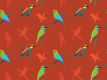 Bird Bee Eater Wallpaper Royalty Free Stock Photography