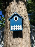 Bird Box - Nesting Box Royalty Free Stock Image