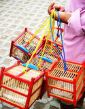 Bird boxes Stock Photography