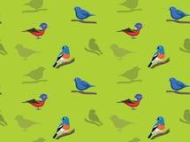 Bird Bunting Wallpaper Stock Image