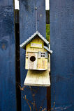 Bird Cafè. Wooden birdhouse called Bird Caf Stock Image