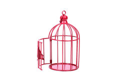 Bird cage Stock Images