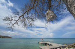 Bird cage. At Coral bay Samed island, Thailand Stock Images