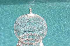 Bird cage detail Royalty Free Stock Images