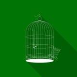 Bird cage icon Stock Photo