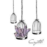 Bird cage Stock Photography