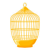 Bird cage isolated illustration Stock Image
