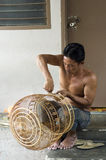 Bird Cage maker Stock Photo