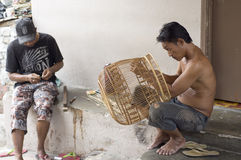 Bird Cage maker Royalty Free Stock Photo