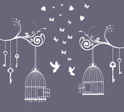 Bird Cage Stock Photography