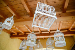 bird cages lamp Stock Photos