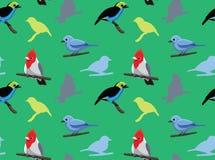Bird Cardinal Tanager Wallpaper 2 Stock Photography
