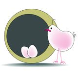 Bird cartoon Royalty Free Stock Photography