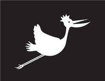 Bird cartoon Stock Images