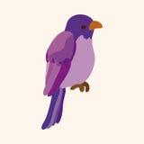 Bird cartoon design elements vector Stock Image