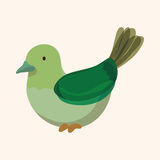 Bird cartoon design elements vector. Vector illustration file Royalty Free Stock Photography