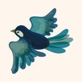 Bird cartoon design elements vector Stock Photography