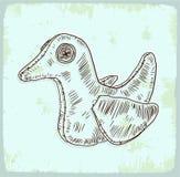 Bird cartoon  illustration , vector icon Stock Photos