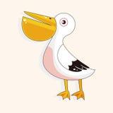 Bird cartoon theme elements vector,eps Stock Photos