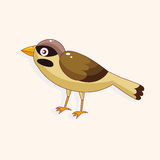 Bird cartoon theme elements vector,eps Royalty Free Stock Image