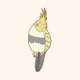 Bird cartoon theme elements vector,eps Royalty Free Stock Photography