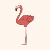 Bird cartoon theme elements vector,eps. Vector illustration file Royalty Free Stock Photo