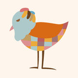 Bird cartoon theme elements vector,eps Royalty Free Stock Photography
